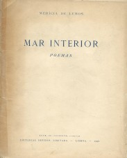 MAR INTERIOR. Poemas.