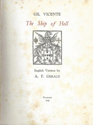 THE SHIP OF HELL. English version by A. F. Girald.